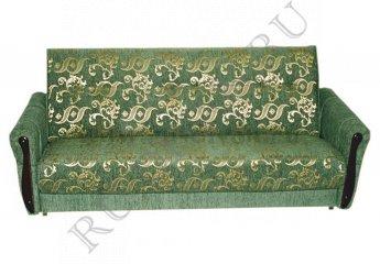 Диван Аккорд книжка фото 1 цвет зеленый