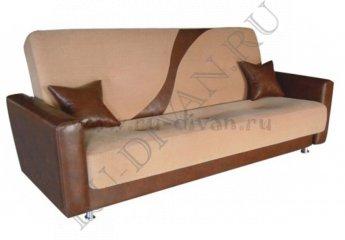 Диван Галея книжка фото 1 цвет коричневый