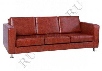 Диван Мотель-3 трехместный фото 1 цвет коричневый