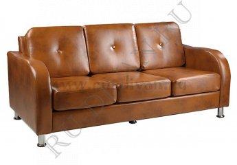 Диван Рантье-3 трехместный фото 1 цвет коричневый
