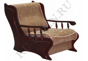 Кресло Фараон фото 1 цвет коричневый