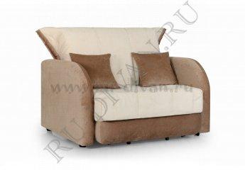 Кресло-кровать Гламур фото 1 цвета: бежевый, коричневый