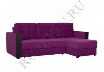 Угловой диван Ричардс 1 – доставка фото 1 цвет фиолетовый