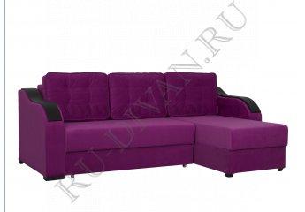 Угловой диван Ричардс 3 – отзывы покупателей фото 1 цвет фиолетовый