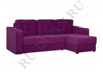 Угловой диван Ричардс 6 – доставка фото 1 цвет фиолетовый