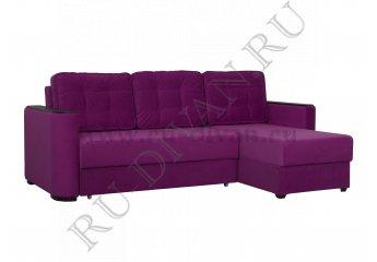 Угловой диван Ричардс 7 фото 1 цвет фиолетовый