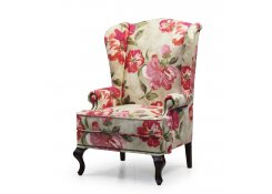 Английское кресло с ушами описание, фото, выбор ткани или обивки, цены, характеристики