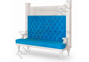 Диван Ретро Капитоне фото 1 цвет синий