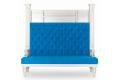 Диван Ретро Капитоне фото 2 цвет синий
