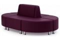 Диван Кафе модульный фото 3 цвет фиолетовый