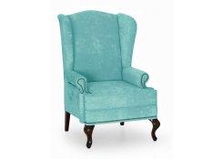 Английское кресло с ушами (Голубой)