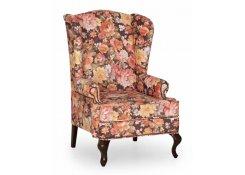 Английское кресло с ушами(Хорека 028) описание, фото, выбор ткани или обивки, цены, характеристики