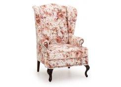 Английское кресло с ушами(Бежевый)