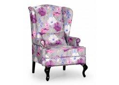 Английское кресло с ушами (Фиолетовый)