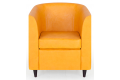 Кресло Клуб – доставка фото 2 цвет желтый