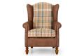 Кресло Лорд фото 2 цвета: коричневый, бежевый