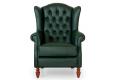 Кресло Лорд Капитоне фото 2 цвет зеленый
