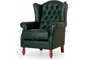 Кресло Лорд Капитоне фото 1 цвет зеленый