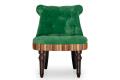 Кресло Барокко – доставка фото 2 цвета: зеленый, коричневый