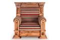 Кресло Кантри – доставка фото 2 цвет коричневый
