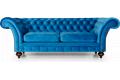 Диван Ричард – отзывы покупателей фото 2 цвет синий