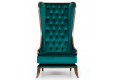 Кресло Корона – характеристики фото 2 цвет зеленый