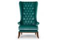 Кресло Трон фото 2 цвет зеленый