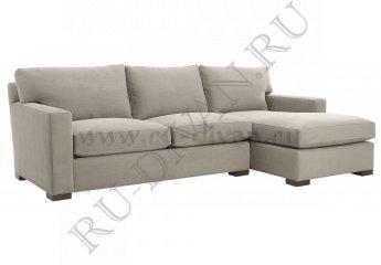 Угловой диван Непал с оттоманкой фото 1 цвет белый