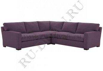 Угловой диван Непал фото 1 цвет фиолетовый