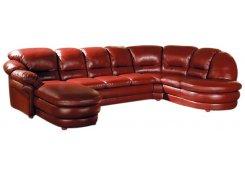Угловой диван Нодус (Коричневый)