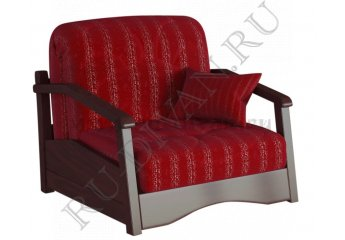 Кресло-кровать Регул фото 1 цвет бордовый