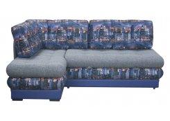 Угловой диван Император-3 (Синий)
