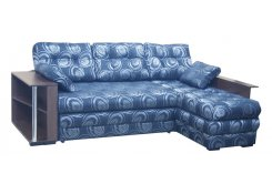 Угловой диван Император-6 (Синий)