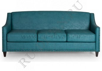 Диван Рокфорд – доставка фото 1 цвет голубой