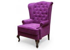 Каминное кресло с ушами (Фиолетовый)