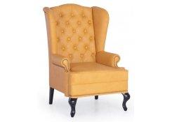 Каминное кресло с ушами(Желтый)