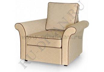 Кресло Мэдисон кант фото 1 цвета: бежевый, коричневый
