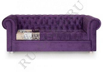 Диван Пэчворк Крокус фото 1 цвет фиолетовый