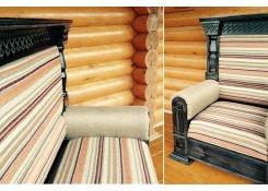 Мебель для бревенчатого дома