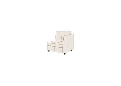 Модуль диван с подлокотником Сохо