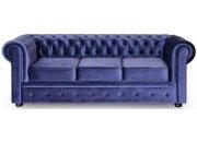 Прямой диван Честер трёхместный