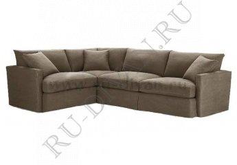 Угловой диван Марсия фото 1 цвет коричневый
