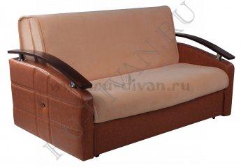Диван Арнольд аккордеон – отзывы покупателей фото 1 цвет коричневый
