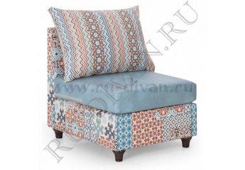 Кресло Шале БП – характеристики фото 1 цвета: бежевый, голубой