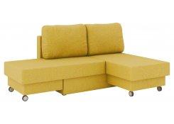 Угловой диван Лира (Желтый)