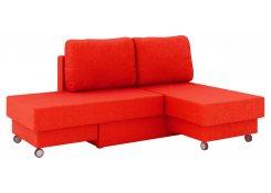 Угловой диван Лира (Красный)