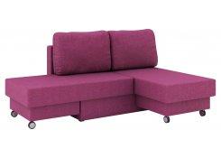 Угловой диван Лира (Фиолетовый)