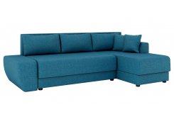 Угловой диван Олимп-1(Синий)