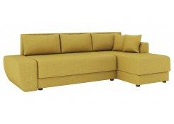 Угловой диван Олимп-1 (Желтый)