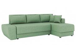 Угловой диван Олимп-1 (Зеленый)